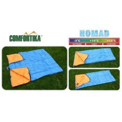 Sleeping bag COMFORTIKA «Nomad» (190 x 80 cm, Thermolong, left zipper) CN-L