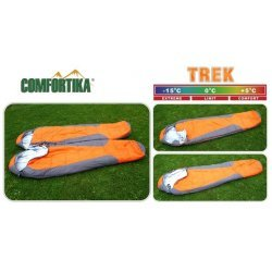 Sleeping bag COMFORTIKA «Trek» (185+35 x 75 cm, Thermolong, left zipper) CT-L