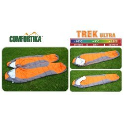 Sleeping bag COMFORTIKA «Trek Ultra» (185+35 x 75 cm, Thermolong, left zipper) CTU-L
