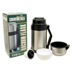 Thermos COMFORTIKA «Family» 100 with plug (1000 ml) NLB-100D