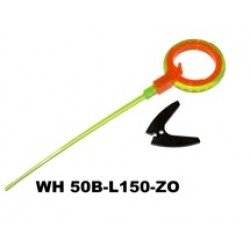 Winter rod WH 50B (15 cm, reel diam. 50 mm, ZO) ORANGE GREEN