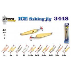 Winter lure «Ice Jig» 3448 (vert., 55 mm, 5g, colour: NI)