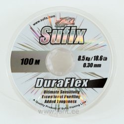 Sufix DuraFlex clear 100m 3.7kg/0.18mm