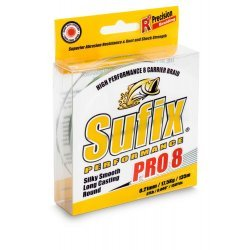 Sufix Performance PRO 8 Low Vis Green 0.30mm 275m/29kg