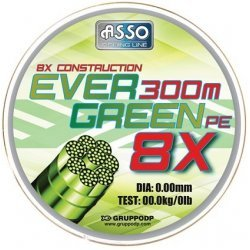Asso EVER GREEN PE 8X 0.41mm/34.80kg/300m
