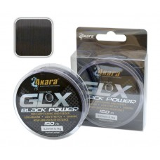 AKARA «GLX Black Power 150» (mono, 150 m, 0,250 mm, 8,10 kg)