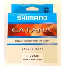 Shimano Catana 150m 0.205mm/4.20kg color: clear (MADE IN JAPAN)