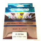 Shimano Technium 200m 0.185mm/3.20kg color: Black (MADE IN JAPAN)