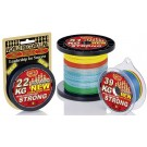 WFT NEW 0.12mm 15KG Strong multicolor 300m