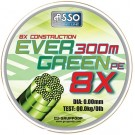 Asso EVER GREEN PE 8X 0.36mm/27.30kg/300m