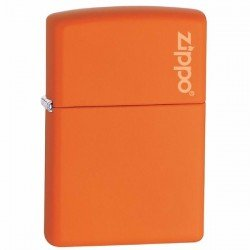 Zippo Orange Matte with Logo 231ZL