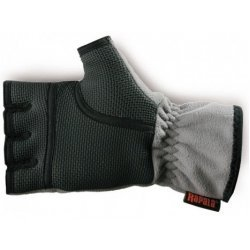 RAPALA PRO-WEAR GLOVES AMARA HALF FINGER/GREY-BLACK XL
