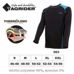 Thermal underwear TAGRIDER ADVANCED top (size: XXL 54-56, colour: blue  black)