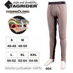 Thermal underwear TAGRIDER NORDLAND (XL 52-54, colour: grey  orange  black)