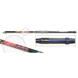 Fishing rod AKARA «POWER BLACK» (telesc., 6,00 m, fiberglass, 520 g, 10-40 g)