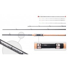 AKARA GLOBE «HUNTER Feeder» 3X (plug rod, 3,90 m, carbone, 480 g, test: >120 g)
