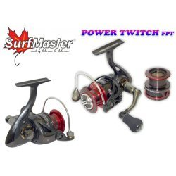 SURF MASTER «Yamato Power Twitch» FPT3000A (9+1bb 0.25mm/200m 5,0:1 spare spool)